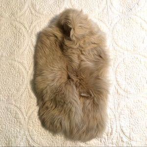 J.Crew Toscana Lamb Shearling Fur Stole